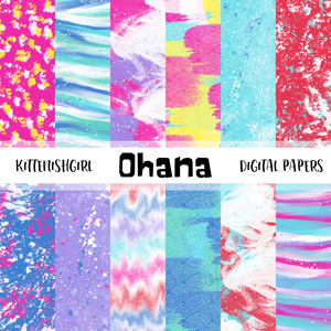 Ohana // Digital Papers