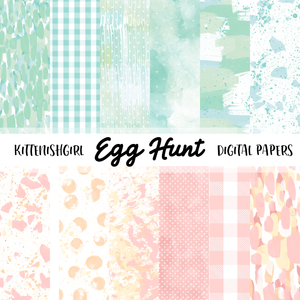 Egg Hunt // Digital Papers