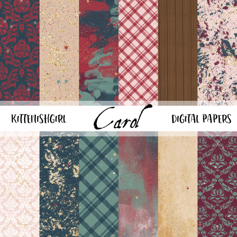 Carol // Digital Papers