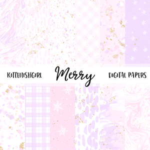 Merry // Digital Papers