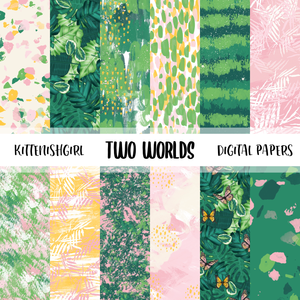 Two Worlds // Digital Papers