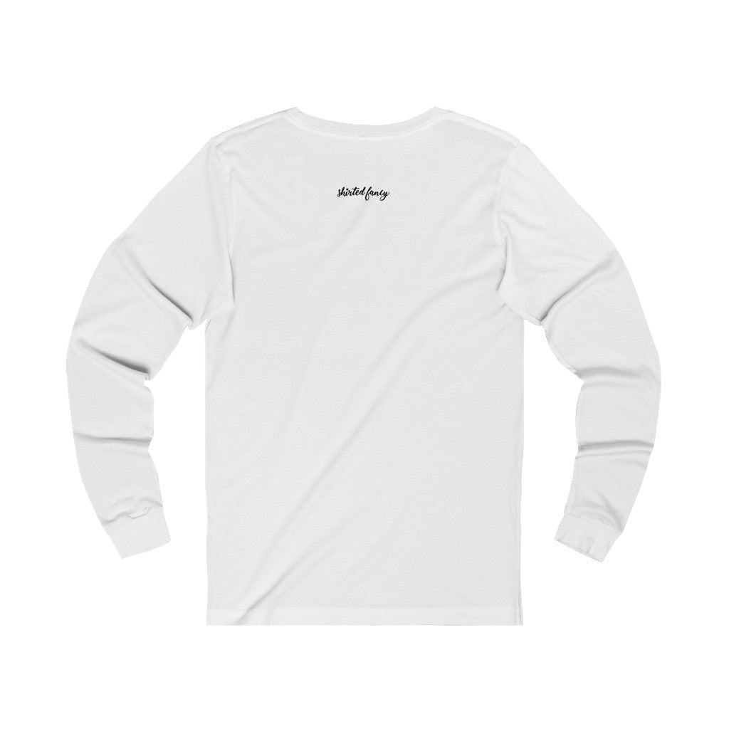 this is my fancy t-shirt Unisex Jersey Long Sleeve Tee