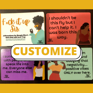 Black Girl Affirmation| Affirmation Cards for Black Women|