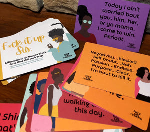 Affirmation Cards for Black Women, Affirmation Deck for Black Women