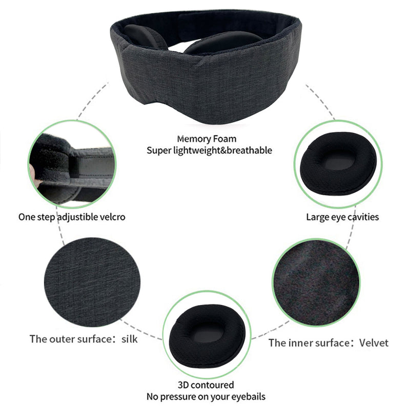 SleepCloud™ - 3D Sleep Mask - sleep cloud