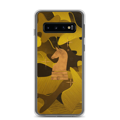 Camouflage 3d Gold Satin | Accessories for Samsung | Samsung Case