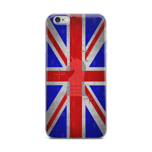 UK Union Jack Flag Metal Look | Accessories for iPhone | iPhone Case