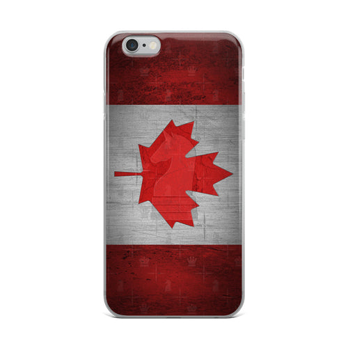 Canada Flag Metal Look | Accessories for iPhone | iPhone Case