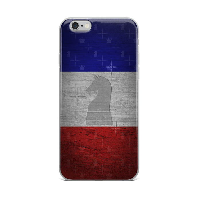 France Flag Metal Look | Accessories for iPhone | iPhone Case