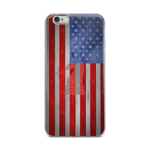 USA Flag Metal Look | Accessories for iPhone | iPhone Case