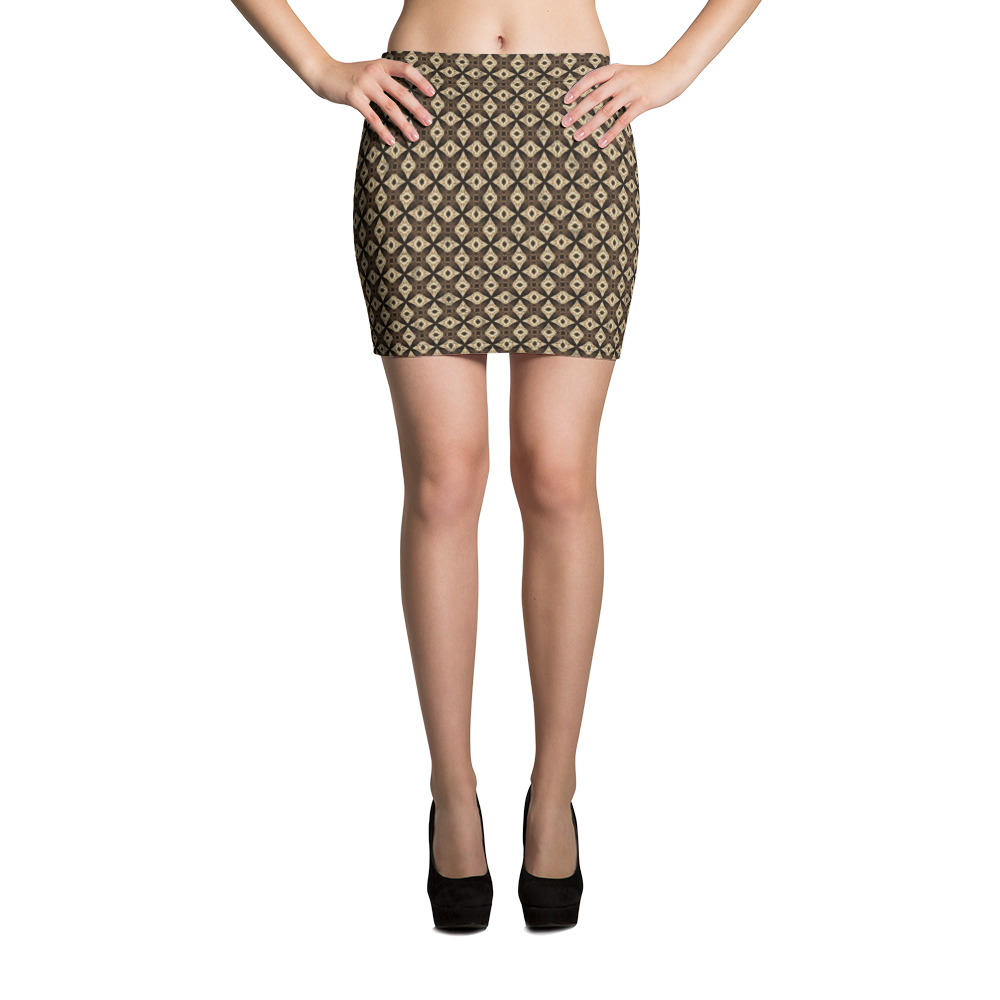 This picture show the zoom of Sagittarii | Women's Skirts | Mini Skirt