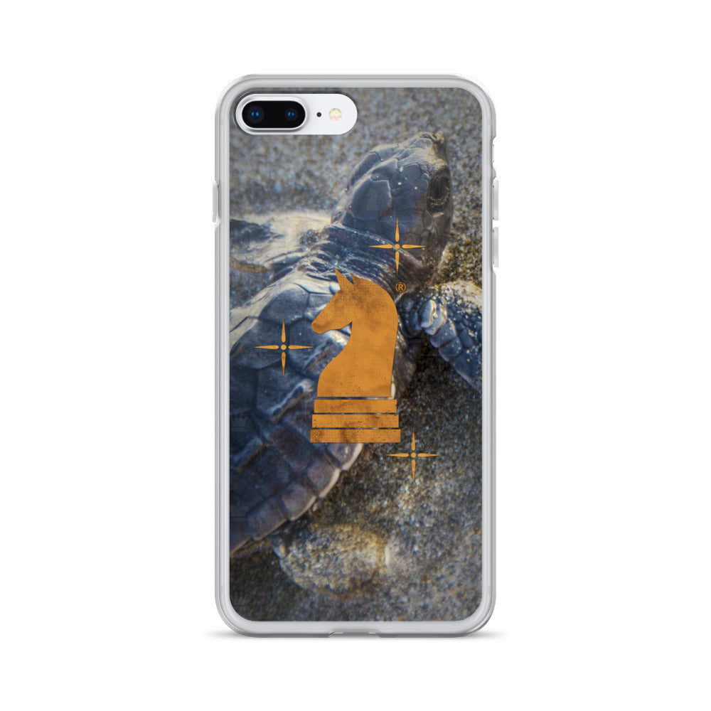 This picture show the zoom of Turtle Little | Accessories for iPhone | iPhone Case