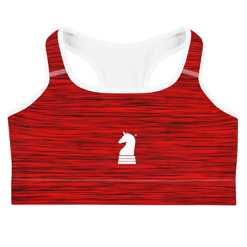 Red Scratches | Women's Activewear | Sports bra