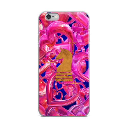 Hearts 3d Glossy Pink | Accessories for iPhone | iPhone Case