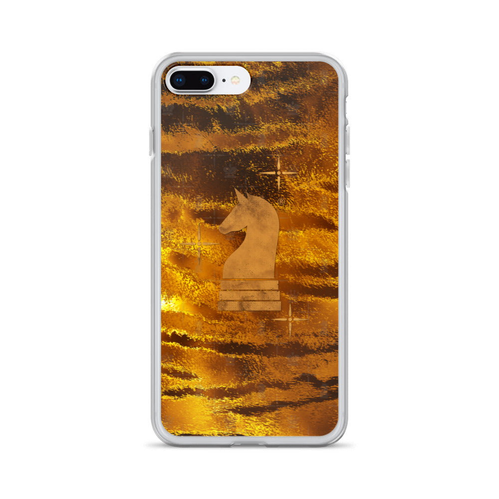 This picture show the zoom of Tiger Gold | Accessories for iPhone | iPhone Case