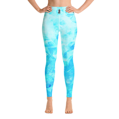 Crystal Turquoise HD | Women's Activewear | Yoga Leggings