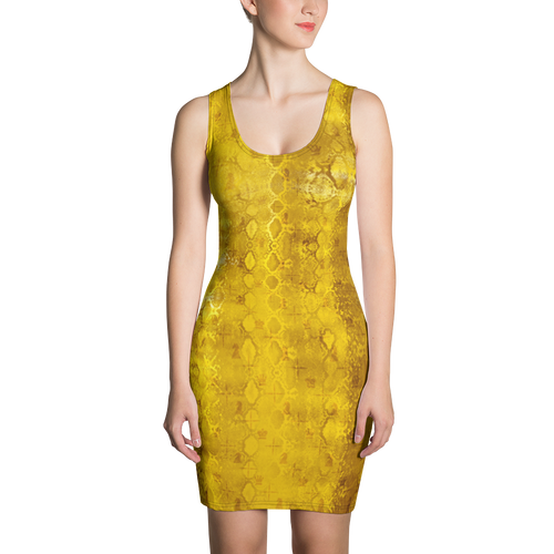Python Gold | Women's Dresses | Dress