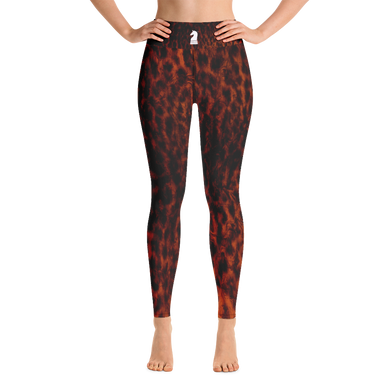 Leopard Dark | Women's Activewear | Yoga Leggings
