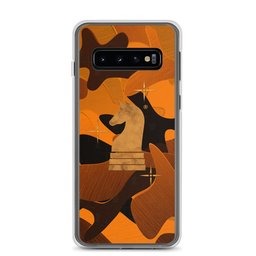 Camouflage 3d Orange | Accessories for Samsung | Samsung Case