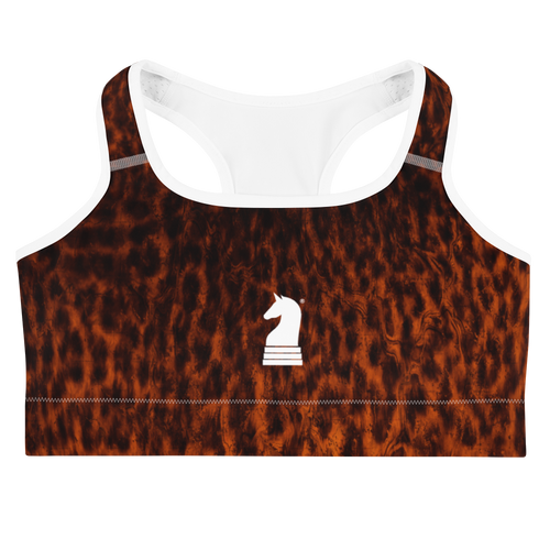 Leopard Dark | Women's Activewear | Sports bra