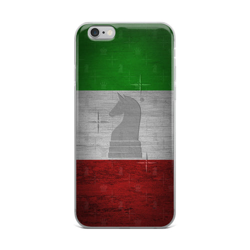 Italy Flag Metal Look | Accessories for iPhone | iPhone Case
