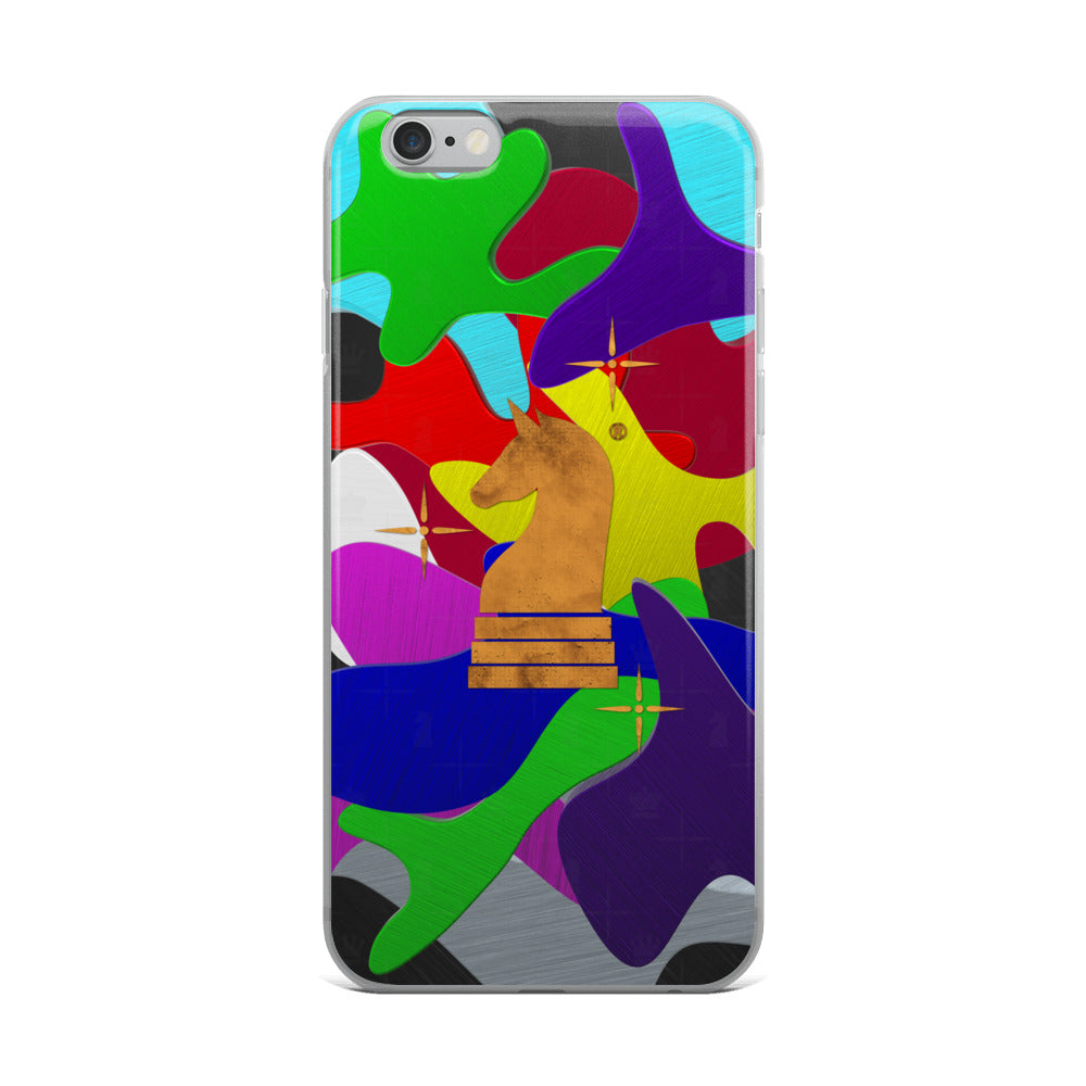 This picture show the zoom of Camouflage 3d Rainbow | Accessories for iPhone | iPhone Case