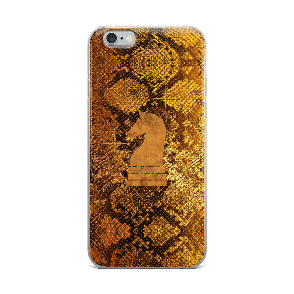 This picture show the zoom of Python Gold | Accessories for iPhone | iPhone Case