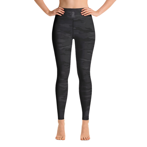 Urban Camouflage 3D | Women's Activewear | Yoga Leggings