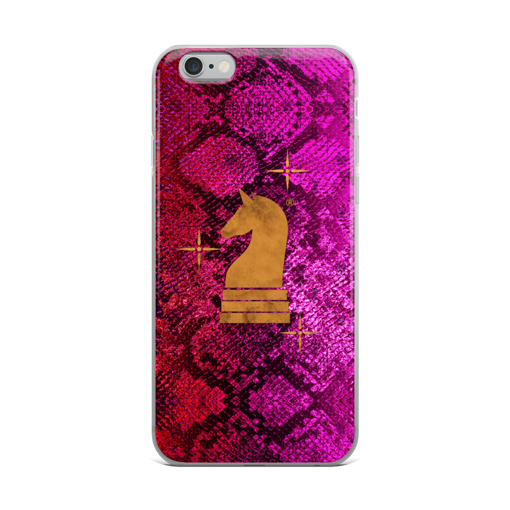 This picture show the zoom of Python Pink | Accessories for iPhone | iPhone Case