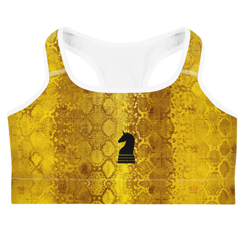 Python Gold | Women's Activewear | Sports bra