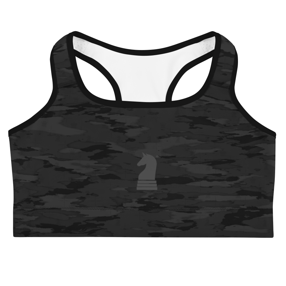 This picture show the zoom of Urban Camouflage 3D | Women's Activewear | Sports bra