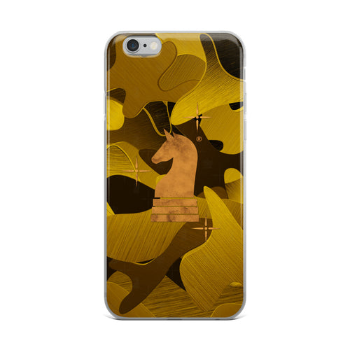 Camouflage 3d Gold Satin | Accessories for iPhone | iPhone Case