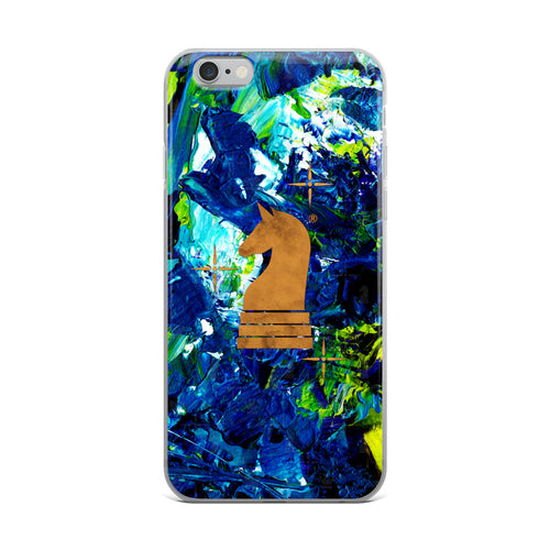 Art Paint Blue Green | Accessories for iPhone | iPhone Case