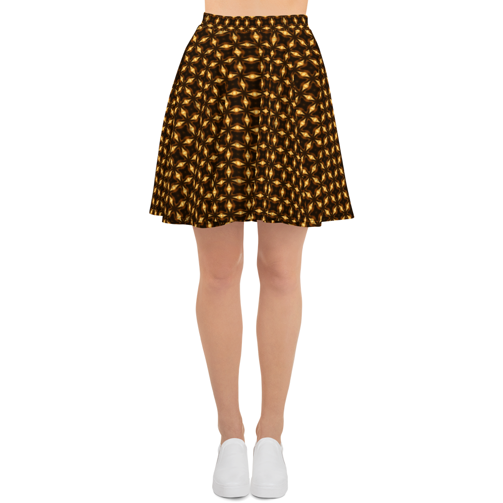 This picture show the zoom of Sagittarii Alpha | Women's Skirts | Skater Skirt
