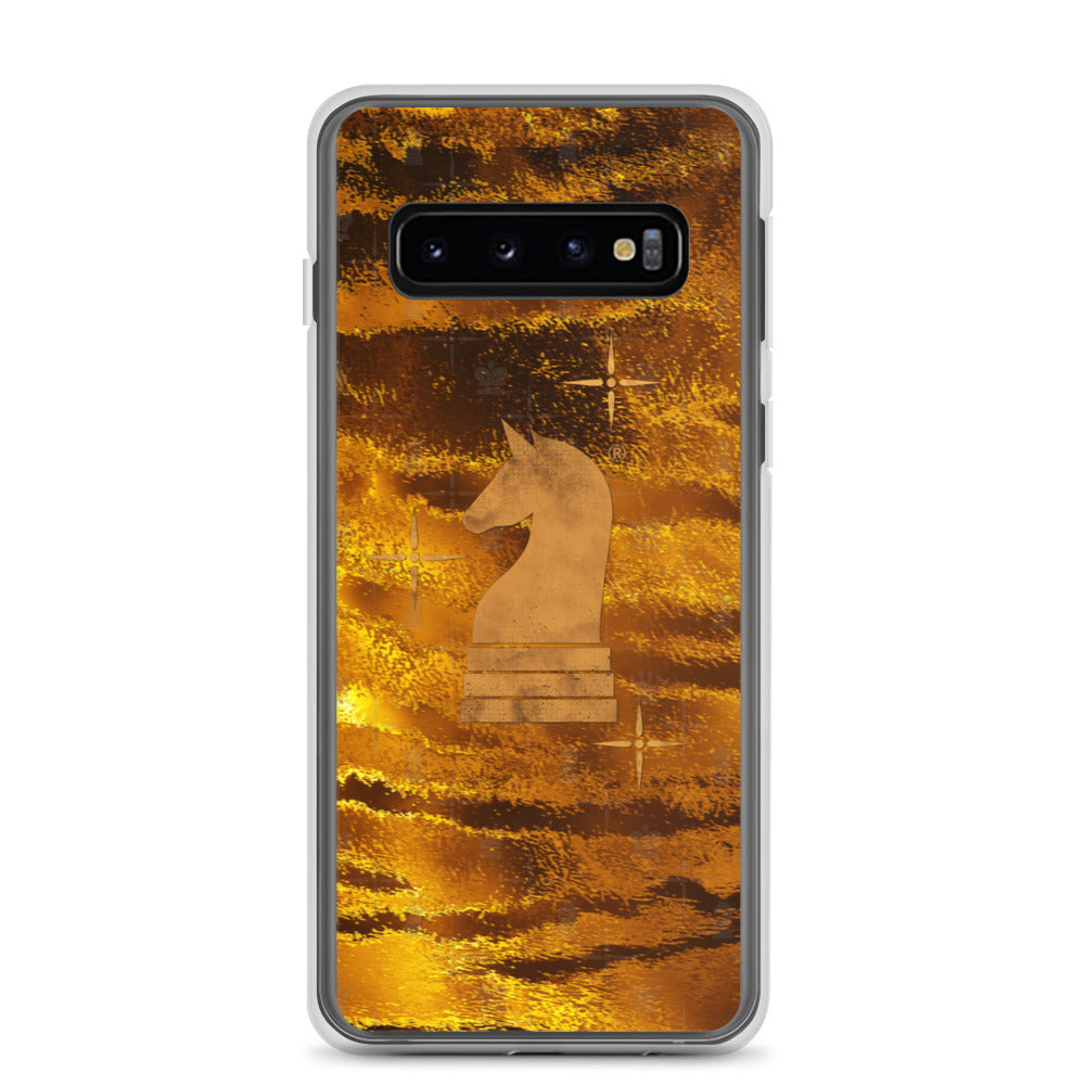 This picture show the zoom of Tiger Gold | Accessories for Samsung | Samsung Case