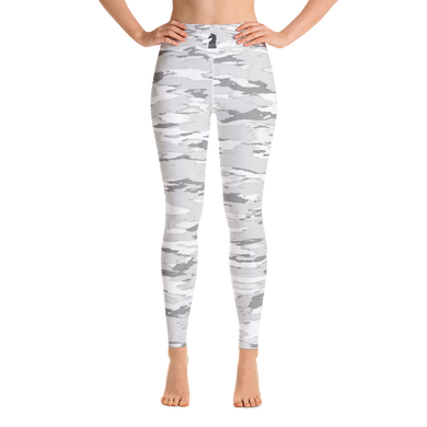 Snow Camouflage 3D | Women's Activewear | Yoga Leggings