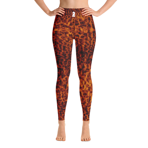 Leopard Skin | Women's Activewear | Yoga Leggings