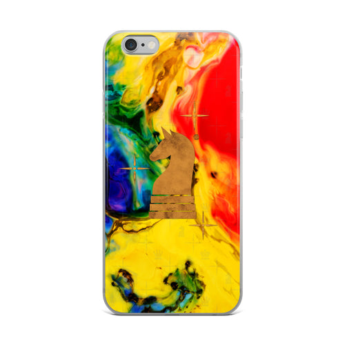 Art Paint Yellow Red | Accessories for iPhone | iPhone Case