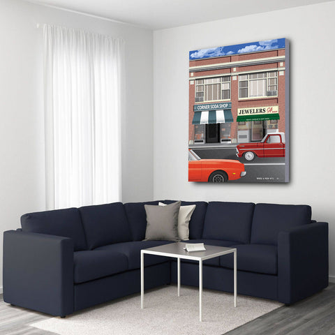 Bissell & Main 1972 Canvas Prints