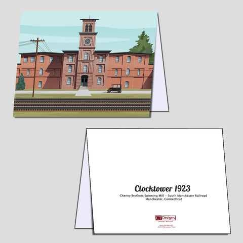 Clocktower 1923 Note Cards