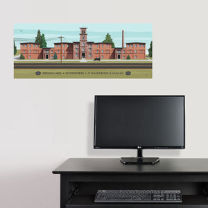Clocktower 1923 Matte Prints