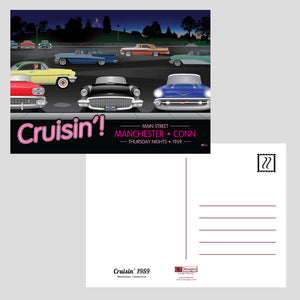 Cruisin' 1959 Post Cards