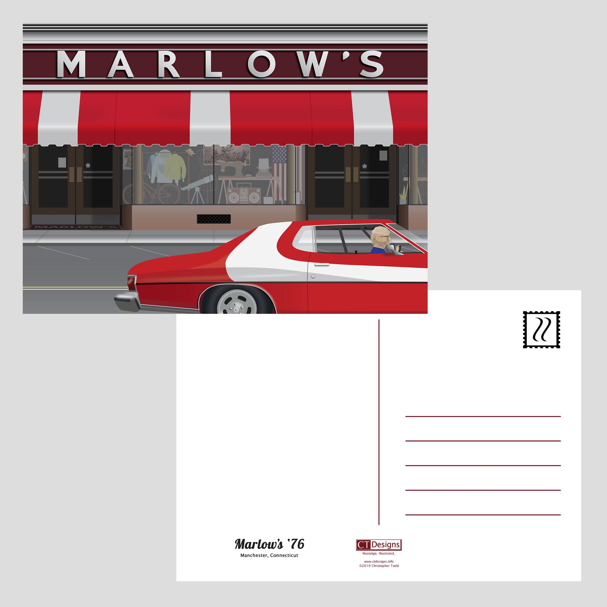 Marlow's '76 Post Cards