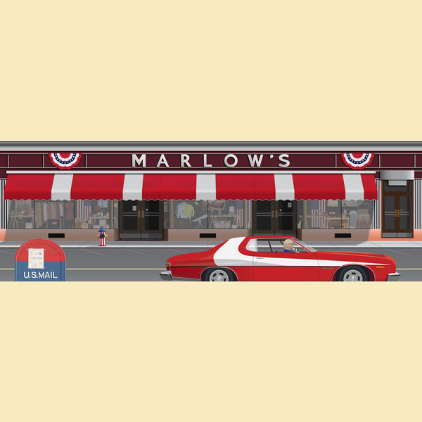 Marlow's '76 Canvas Prints