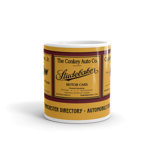 1927 Manchester Directory - Automobile Dealers Mug