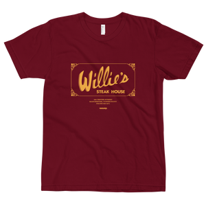 Willie's Steak House Tee Shirt (Unisex)