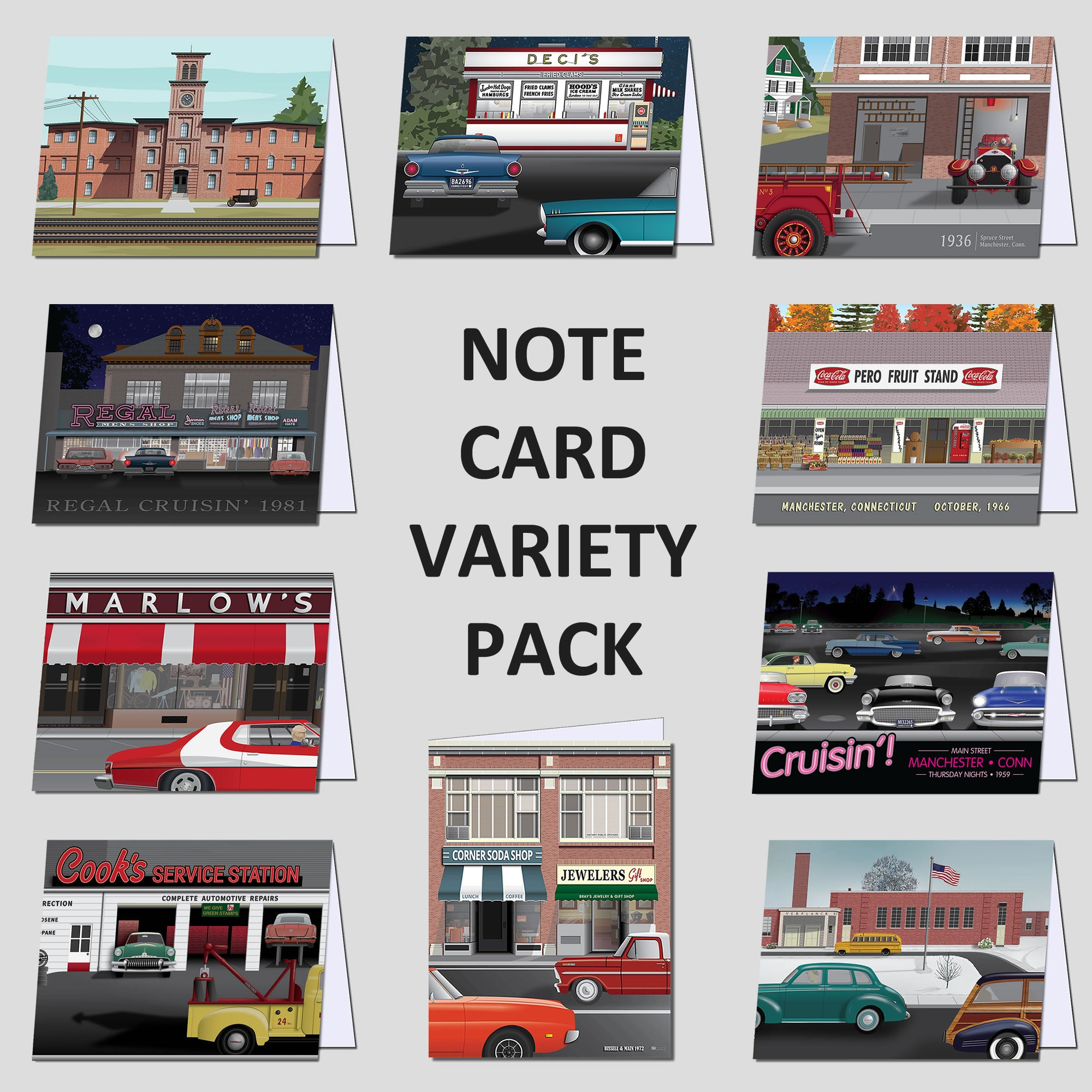 CT Designs Note Cards Variety Pack