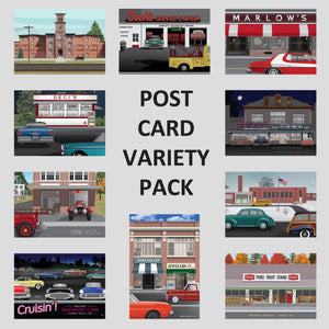 CT Designs Post Cards Variety Pack
