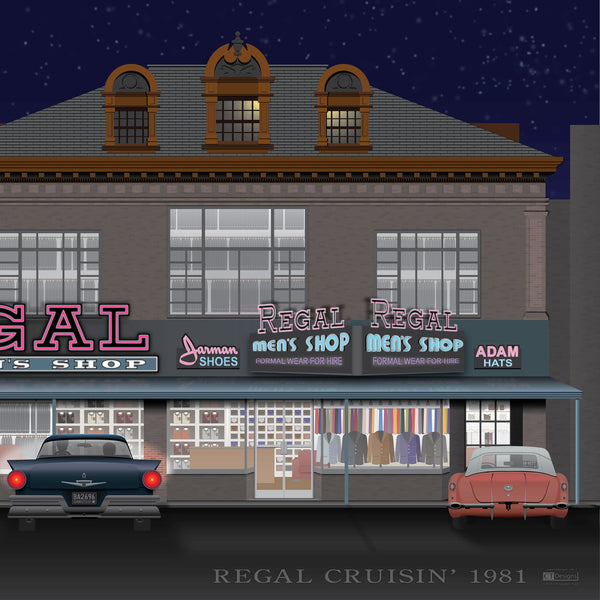 Regal Cruisin' 1981 Canvas Prints