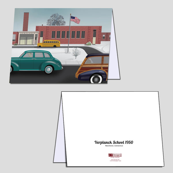 Verplanck School 1950 Note Cards